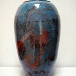 DSCF0023-001  vaas blauw  60 x 35 x 35 cm